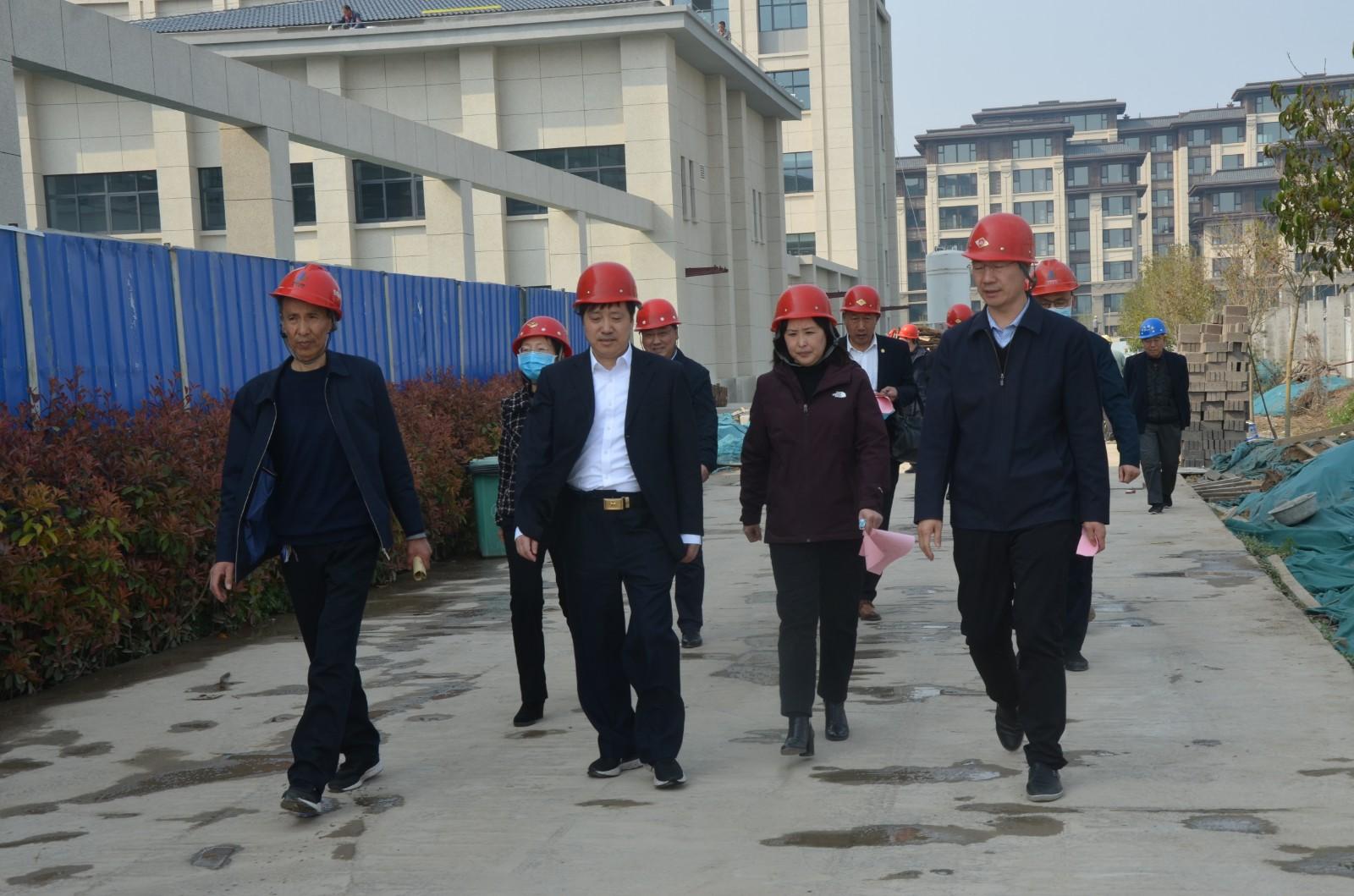 民政部领导到安阳市残疾人康复中心项目调研