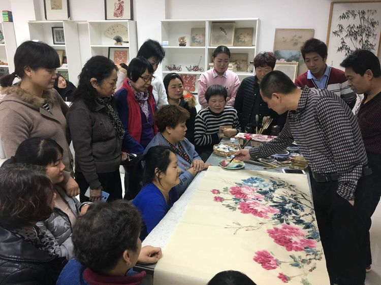 姜栋帅老师和他的学生们