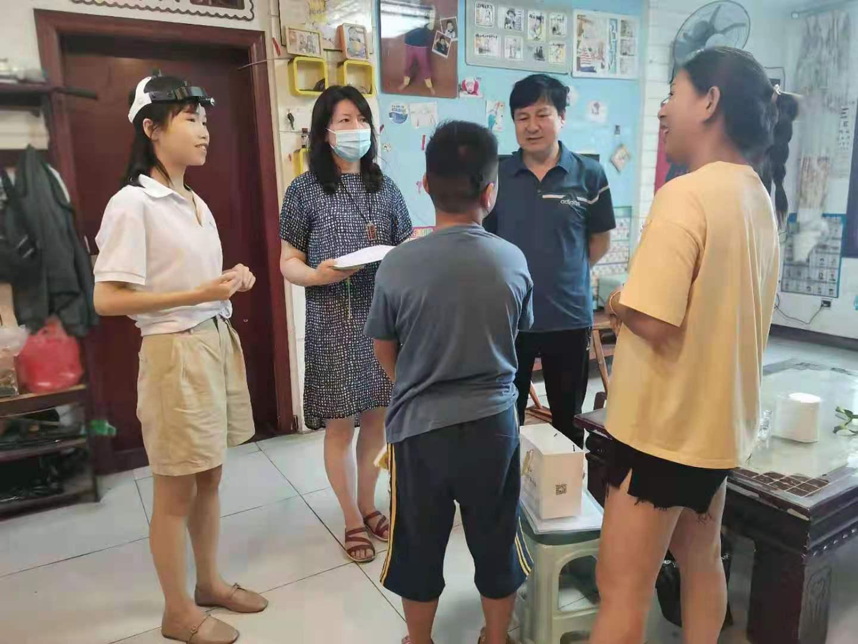 洛阳市洛龙区残联开展残疾儿童助听器筛查验配工作