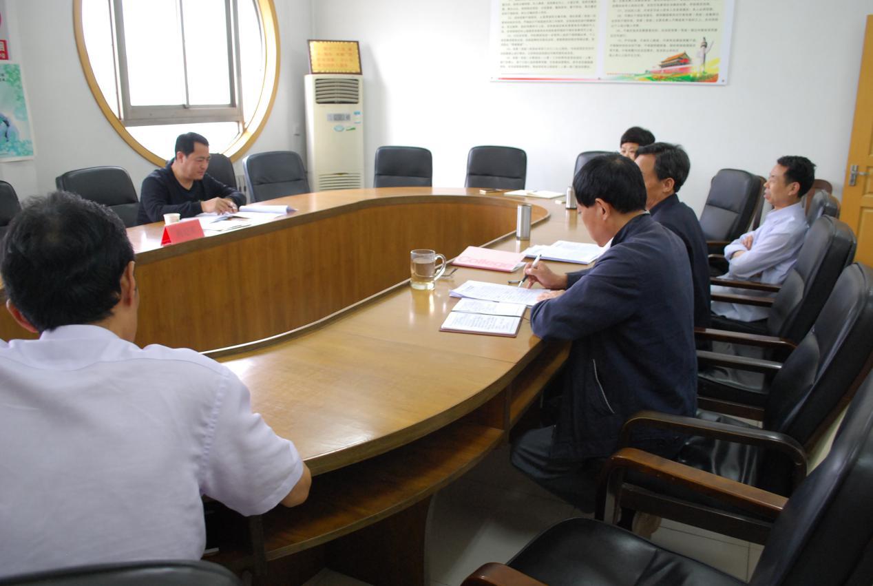 濮阳市残联召开落实中央八项规定精神 以案促改专题民主生活会