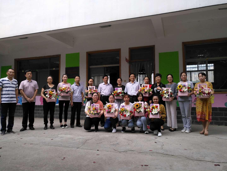 濮阳市残联领导班子心系教育 教师节慰问听障儿童教师