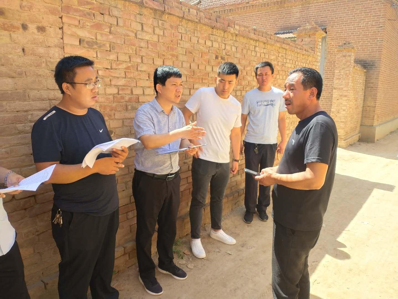 濮阳市台前县残联对全县所有疑似残疾人开展走访入户活动
