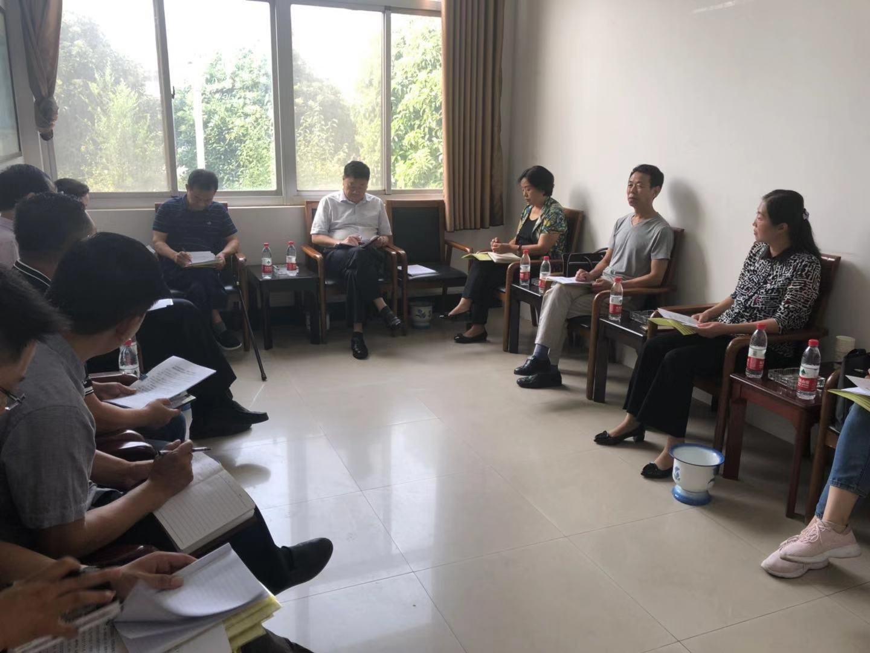 濮阳市濮阳县残联接待省级领导到我县调研残疾人脱贫攻坚工作
