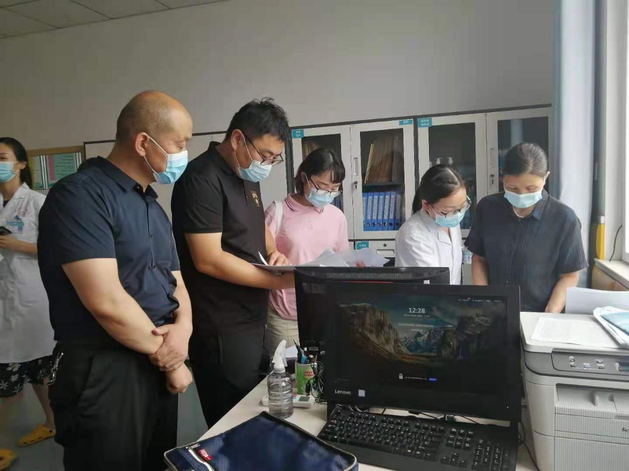 市残联对新蔡县儿童康复定点机构安全生产工作进行调研