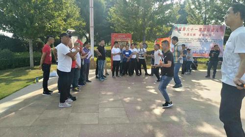 图为第61届国际聋人节聋人跳绳比赛
