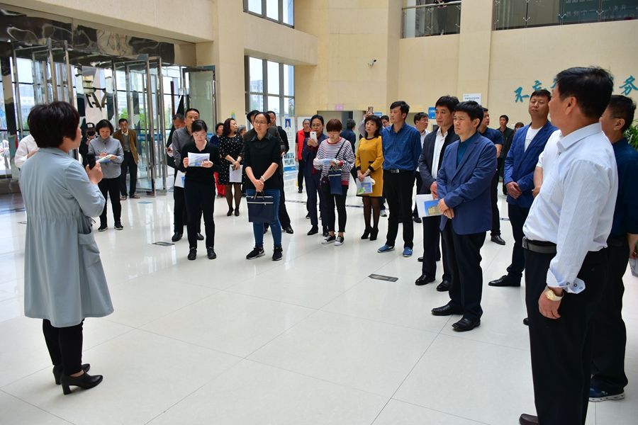 河南省残联系统脱贫攻坚专项责任落实 现场观摩活动在开封市通许县举行