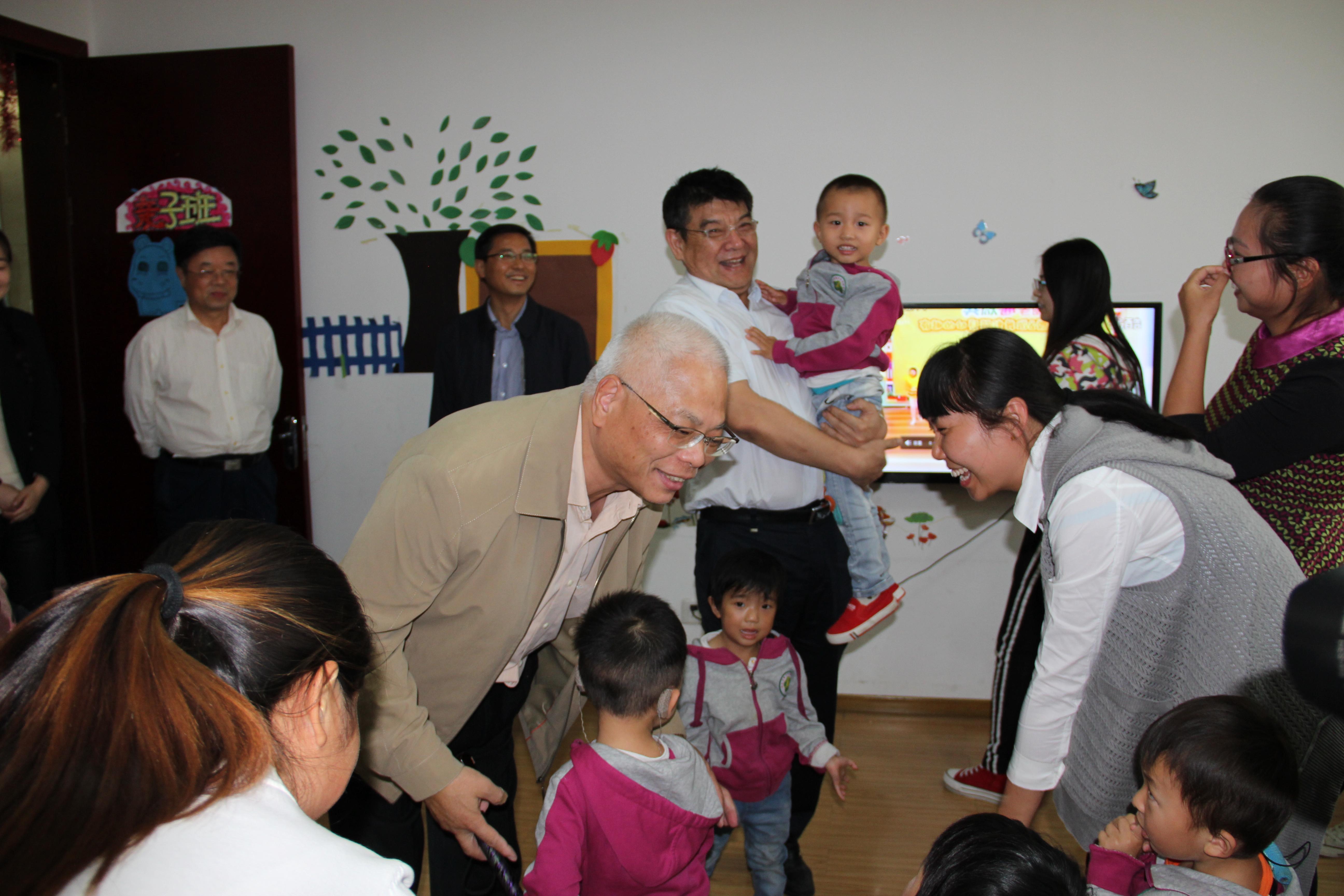 国家政协委员王新宪到河南省残联、省康复中心 调研指导工作