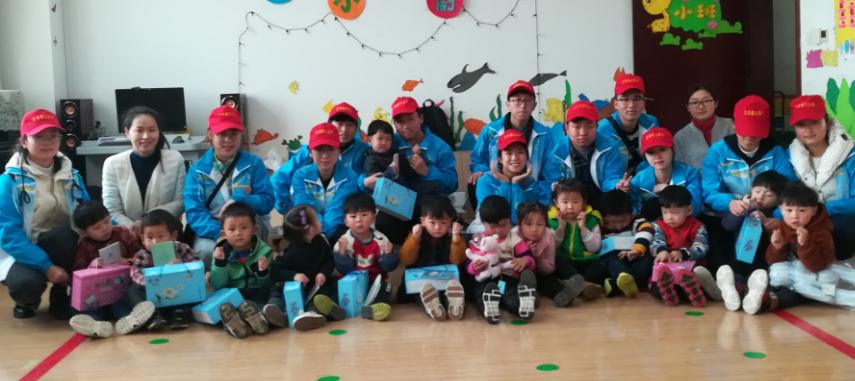 志愿者日:河南省残疾人福利基金会开展关爱残疾儿童志愿服务活动